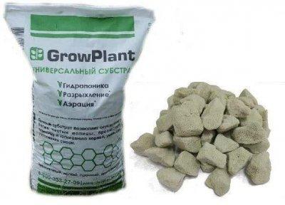 Субстрат для орхідей універсальний вологоутримуючий гранульоване Піноскло GrowPlant 5-30 мм 50 л