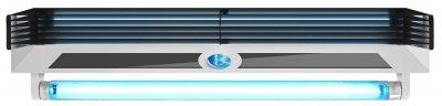 Екранований опромінювач із жалюзі BactoSfera EKRAN Jalousie 15x2 FAN