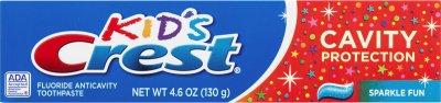 Дитяча зубна паста Crest Kid's Cavity Protection Sparkle Fun 130 г (37000003823)
