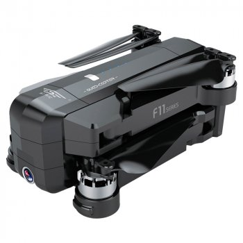 Дрон Blitz F11 PRO GPS упр. 5G камера Full FHD 2592 x 1520 дальность 1200m полет 25 минут Черный