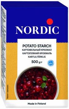 Упаковка крахмала картофельного NordiC 500 г х 12 шт (6411200200475)