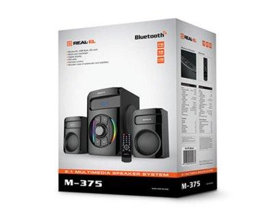 Акустична система REAL-EL M-375 Black