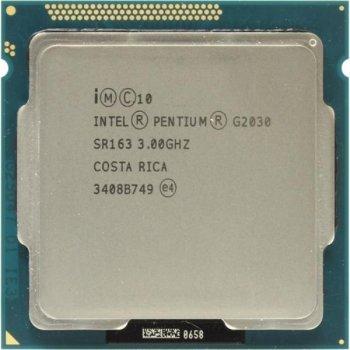 Процессор Intel Pentium Dual Core G2030 (S1155/2x3.0GHz/5GT/s/3MB/55 Вт/BX80637G2030) Б/У