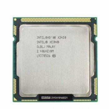 Процессор Intel Xeon X3430 (аналог i5-750) (S1156/4x2.4GHz/2.5GT/s/8MB/95Вт/BX80605X3430) Б/У