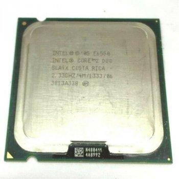 Процесор Intel Core 2 Duo E6550 (S775/2x2.33GHz/4MB/65 Вт/BX80557E6550) Б/У