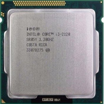 Процесор Intel Core i3-2120 (S1155/2x3.3GHz/5GT/s/3MB/65 Вт/BX80623I32120) Б/У