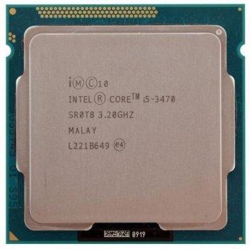 Процесор Intel Core i5-3470 (S1155/4x3.2GHz/5GT/s/6MB/77Вт/BX80637I53470) Б/У
