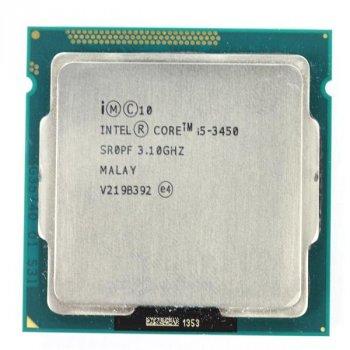 Процесор Intel Core i5-3450 (S1155/4x3.1GHz/5GT/s/6MB/77Вт/BX80637I53450) Б/У