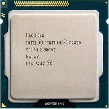 Процесор Intel Pentium Dual Core G2020 (S1155, 2,9 Ghz, Cores - 2, BX80637G2020) Б/У