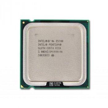 Процессор Intel Pentium Dual Core E5700 (S775/2x3.0GHz/2MB/65 Вт/BX80571E5700) Б/У