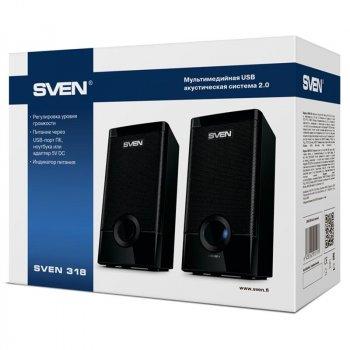 Акустична система Sven 318 Black USB