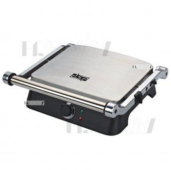 Гриль электрический для дома для стейков прижимной DSP 1400W (KB1001)