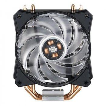 Кулер процесорний Cooler MasterAir MA410P (MAP-T4PN-220PC-R1), Intel: 2066/2011-v3/2011/1151/1150/1155/1156/1366, AMD: AM4/AM3+/AM3/AM2+/AM2/FM2+/FM2/FM1, 84х129х158.5 мм, 4-pin