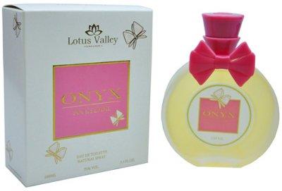 Туалетная вода для женщин Lotus Valley Onyx 100 мл (MM35524) (6291104324770)