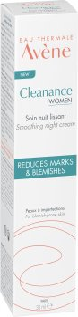 Ночной крем для лица Avene Cleanance Women 30 мл (3282770205589)