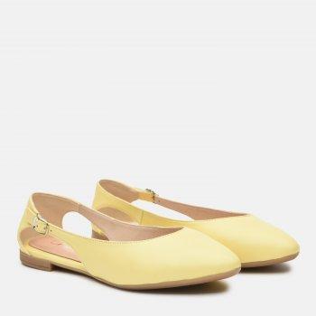 Балетки Ashoes 36284300 Желтые
