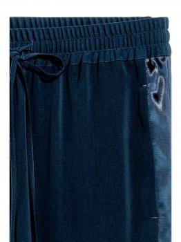 Спортивные штаны H&M 4294474-AAQJ Темно-синие