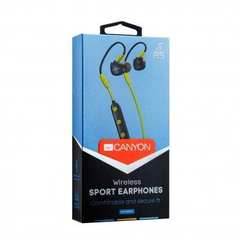 Bluetooth-гарнитура Canyon CNS-SBTHS1L Lime