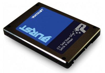 """Твердотільний накопичувач Patriot Burst 960GB 2.5"""" SATAIII 3D NAND (QLC) (PBU960GS25SSDR)"""