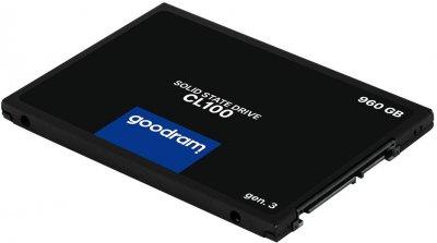 "Твердотільний накопичувач SSD Goodram CL100 Gen.3 480GB 2.5"" SATA III 3D NAND TLC (SSDPR-CL100-480-G3)"
