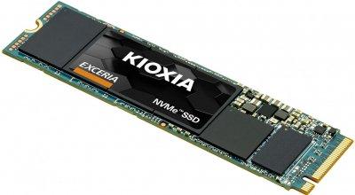 Твердотільний накопичувач Kioxia Exceria 2280 PCIe 3.0 x4 NVMe 500GB (LRC10Z500GG8)