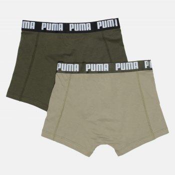 Труси-шорти Puma Basic Boxer 2P 90682342 2 шт. Dark Green Combo
