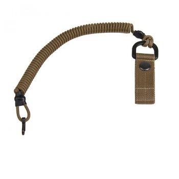 Страхувальний шнур EDCX із карабіном, та кріпленням на пояс FSC0003 Coyote Brown