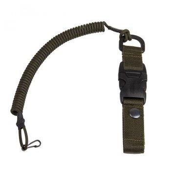 Паракордовый Страховочный шнур с карабином быстросъемный (YKK) EDCX FSC0004 Олива (Olive)