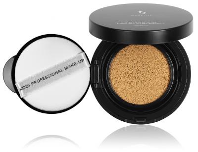 Тональная основа-флюид со спонжем Wetting Sponge Foundation SPF50/PA+++ Vanilla Kodi Professional Make-up 15 г ваниль (20054915)