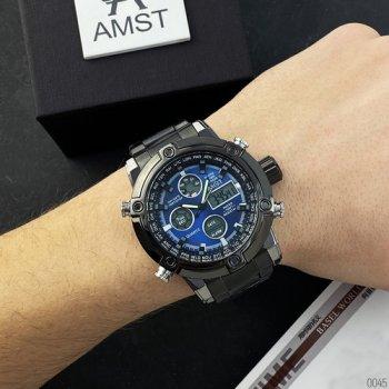 Часы наручные AMST 3022 Metall Black-Blue