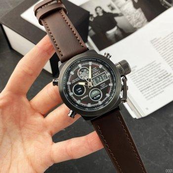 Часы наручные AMST 3003A Black-Brown Wristband