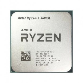 Процесор AMD Ryzen 5 3600X AM4 Tray (100-000000022)