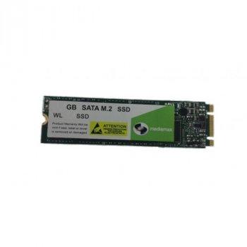 SSD 1TB Mediamax M. 2 2280 SATAIII 3D NAND TLC (WL 1000 SSD M. 2) Refurbished напрацювання до 1%