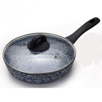 Сковорода Edenberg с высокими бортами и крышкой (EB-343)