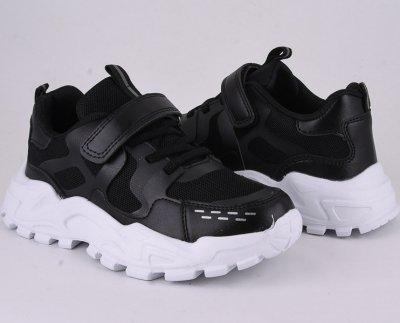 Кросівки Violeta 200-146b Чорно-білий