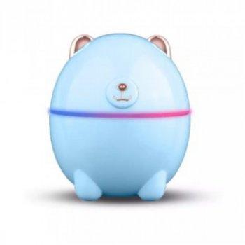Увлажнитель воздуха и ночник 2в1 от USB 220 мл Humidifier Polar Bear Голубой