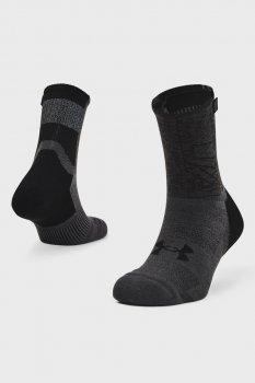 Чорні шкарпетки UA ArmourDry Run Crew-BLK Under Armour 1361156-001