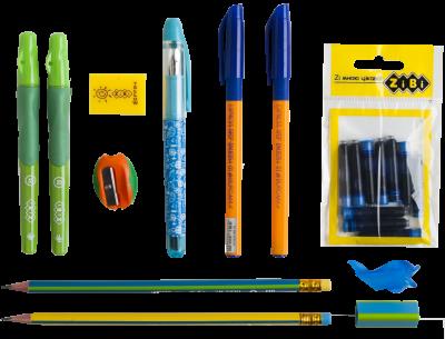 Набор для обучения письму левши ZiBi Kids Line в папке (ZB.9982)