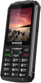 Мобільний телефон Sigma mobile Comfort 50 Outdoor Black