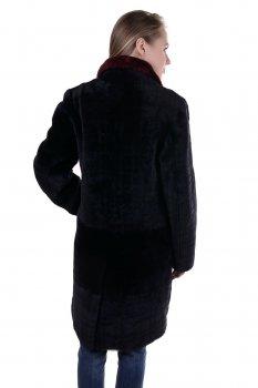 Полушубок Viaveneto Черный (34609)
