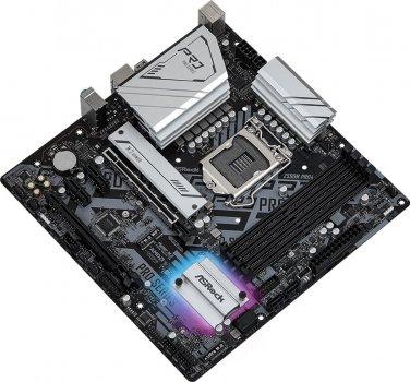 Материнська плата ASRock Z590M Pro4 (s1200, Intel Z590, PCI-Ex16)
