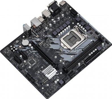 Материнська плата ASRock B560M-HDV (s1200, Intel B560, PCI-Ex16)