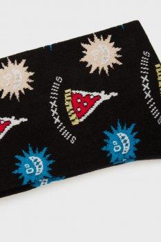 Чоловічі чорні шкарпетки SKM-HERMINE SOCKS Diesel 00SK27 0LBBR