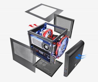 Корпус ThermalTake Core V1 (CA-1B8-00S1WN-00) (F00139893)