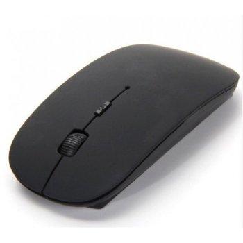 Бездротова ультратонка миша мишка Чорна
