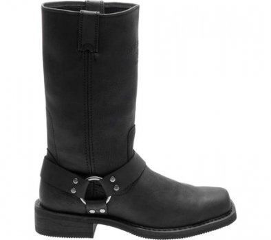 Мужские сапоги Harley-Davidson Bowden Riding Boot Black Full Grain Leather (117504)