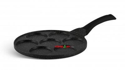 Cковорода для оладьев / панкейков Edenberg с мраморным антипригарным покрытием 27 см (EB-7512)