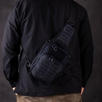 Тактическая сумка-кобура для скрытого ношения Scout Tactical EDC «Tac-box» black