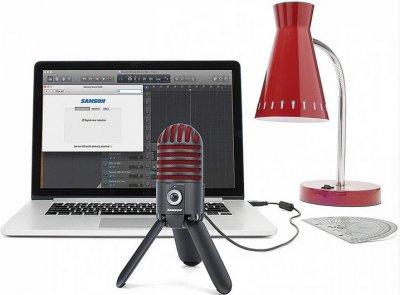 Микрофон профессиональный Samson Meteor Titanium Red Limited Edition