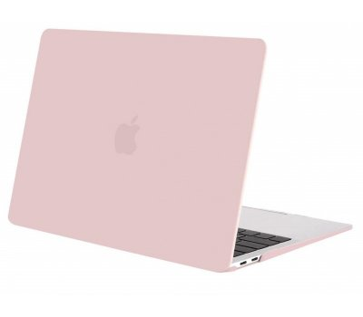 Пластикова накладка STR Matte Hard Shell Case for MacBook Air 13 (2018) A1932 - Baby Pink